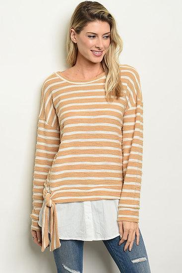 Womens Stripes Top