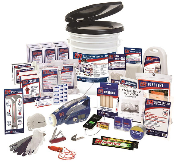 2 PERSON ULTIMATE DELUXE EARTHQUAKE SURVIVAL KIT