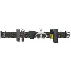 Nylon Duty Belt Combo With Mini Flashlight  Made from durable nylon, the Duty Be