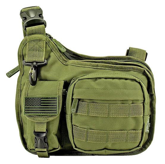 Gun Slinger Tactical Bag - Olive Green