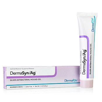 DermaSyn AG Silver Wound Gel Tube, 1.5 oz Derma-Rite