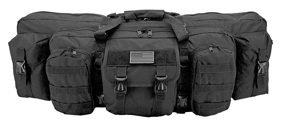 Infantryman Gun Bag - Black