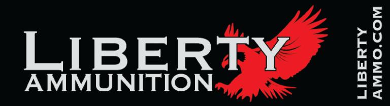 Liberty Ammunition Red & Black Bumper sticker