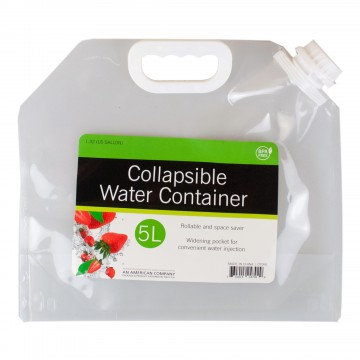 5 Liter Collapsible Water Container