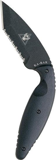 Ka-Bar Large TDI Tanto Knife, Serrated