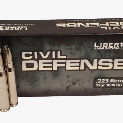 Liberty Ammunition Civil Defense .223 Rem