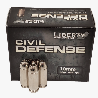 Liberty Ammunition Civil Defense 10 mm Auto