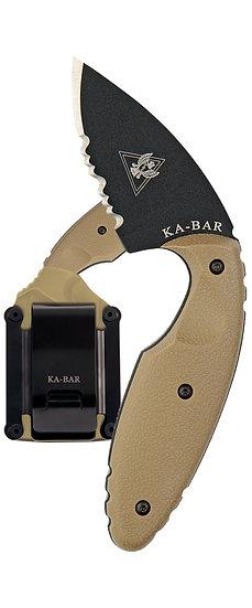 Ka-Bar Original TDI Knife, Half-Serrated