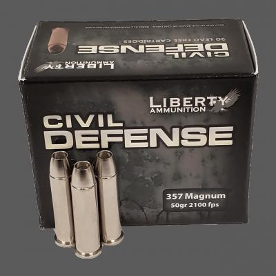 Liberty Ammunition Civil Defense .357 Magnum