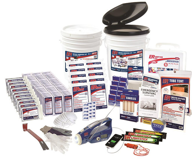 10 PERSON ULTIMATE DELUXE SURVIVAL KIT