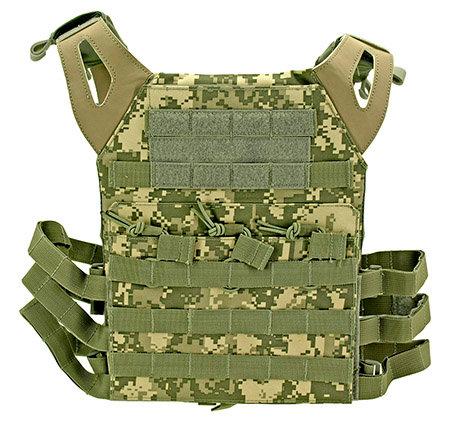 Junior Padded Tactical Vest - Digital Camo