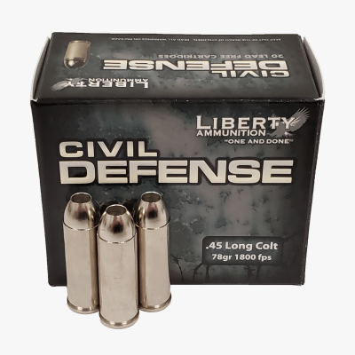 Liberty Ammunition Civil Defense .45 Long Colt