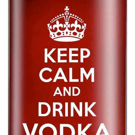 Milo & Trixie Drink Vodka Flask