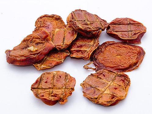 Семенники бычьи сушеные («бычьи яйца»/медальоны), ТМ «Ласощі з села» (100 гр)