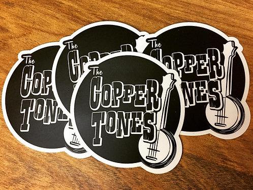 The Copper Tones Sticker