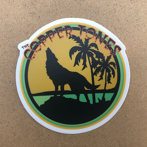 Howlin' Sticker