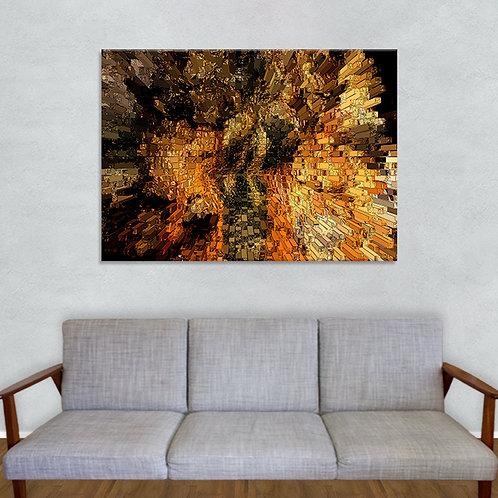 Abstrakt Tropsteinhöhle Griffen - 0001