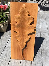 Carved Oak Leaf Plaque.jpg