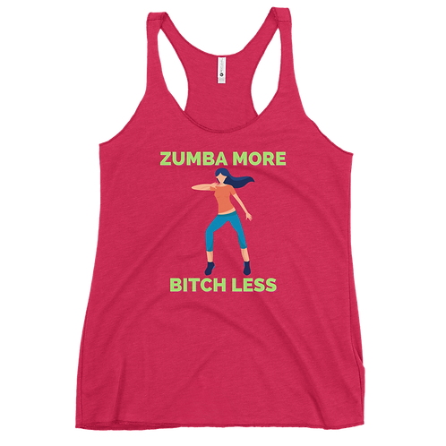 ZUMBA Women's Racerback Tank