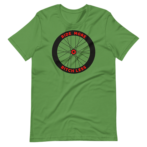 MTB Wheel RMBL Short-Sleeve Unisex T-Shirt