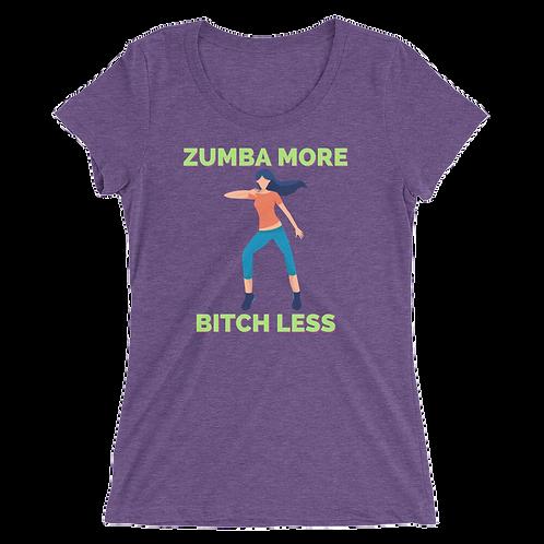 Ladies' Zumba short sleeve t-shirt