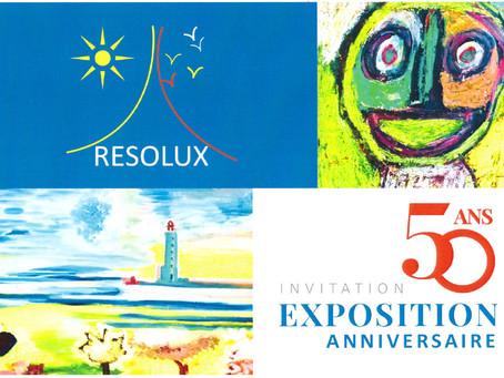 Exposition anniversaire des 50 ans de Resolux
