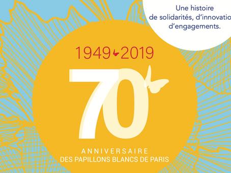 Les 70 ans des Papillons Blancs de Paris