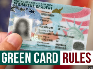 ADMINISTRATION EXPANDS 'HOLD' ON GREEN CARD TO REQUESTS FROM WITHIN THE U.S.