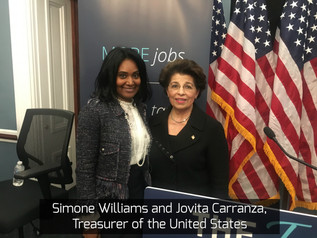 Simone Williams attended a Private Roundtable of Minority Entrepreneurs with Republican Conference C