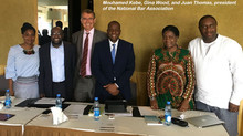 Simone Williams moderated an International Trade and Business panel in Dakar, Senegal