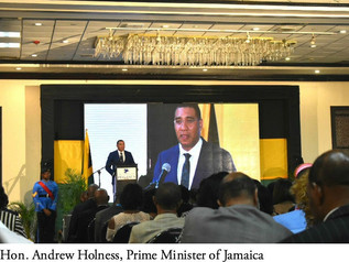Simone Williams attended the Jamaica Diaspora Conference and participated in the Diaspora Day of Ser