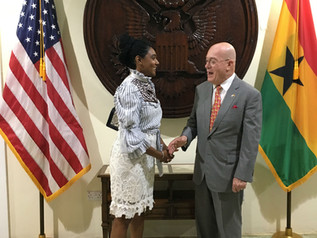 Simone Williams traveled to Ghana and Senegal with the National Bar Association (NBA)