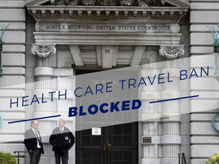 NINTH CIRCUIT PANEL PREVENTS TRUMP ADMINISTRATION FROM IMPLEMENTING HEALTH CARE BAN