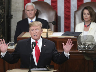 Trump SOTU Address - Merit-Based Immigration and other comments on Immigration