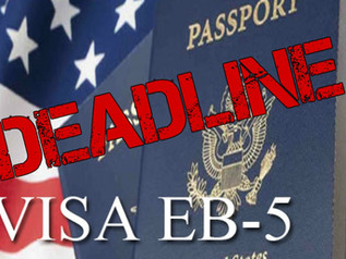 63 Days Left until EB-5 Final Rule is Effective!  Raises Minimum Investment Amount to $900,000!