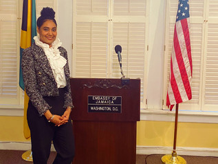 SIMONE WILLIAMS SPEAKS AT IMMIGRATION FORUM AT THE EMBASSY OF JAMAICA
