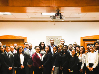 Simone Williams participated in Mentorship event at Howard University School of Law