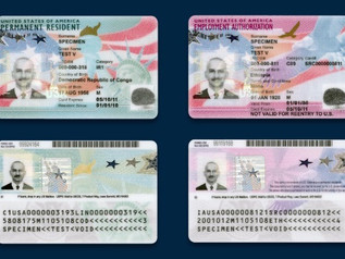 Redesigned Green Cards and EAD Cards issued by USCIS