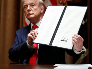 EXECUTIVE ORDER LIMITS FEDERAL CONTRACTORS' USE OF FOREIGN LABOR