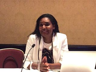 Simone Williams spoke at the National Bar Association's Convention in Toronto, Canada