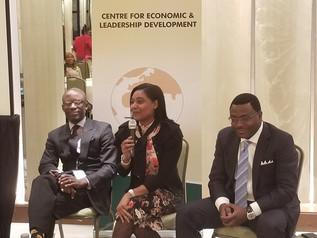 Simone Williams spoke on panels in Washington DC and New York