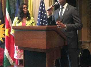 Simone Williams attended Caribbean-American Heritage Month celebration at the White House