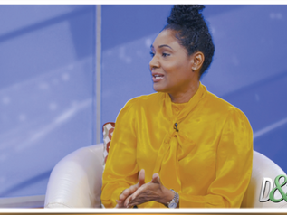 """SIMONE WILLIAMS APPEARS ON """"DIPLOMACY AND BUSINESS"""" WITH AMBASSADOR AUDREY MARKS"""