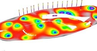 Estudio Lumínico Dialux para espacio púb