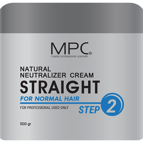 NATURAL NEUTRALIZER CREAM STRAIGHT FOR NORMAL HAIR (Step 2) 500ml