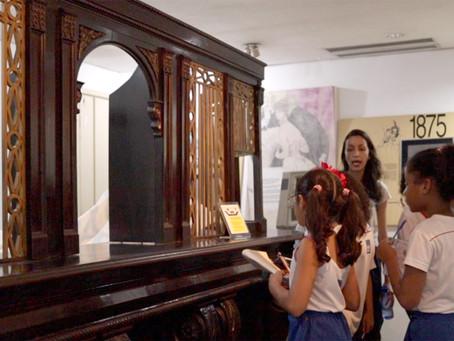 VISITA GUIADA AO MUSEU EUGÊNIO TEIXEIRA / MEMORIAL DO BANCO ECONÔMICO.