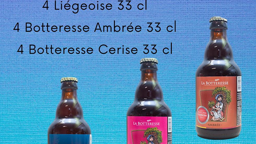 Pack 12 bouteilles de 33 cl