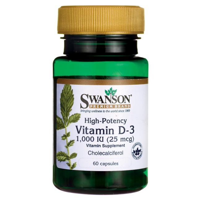 Swanson Vitamin D3