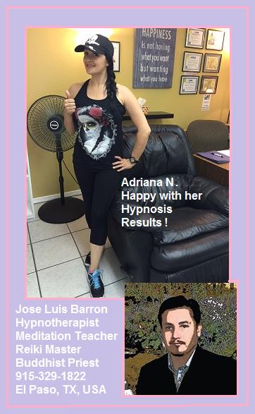 Adriana N. - Hypnosis Success Story #25