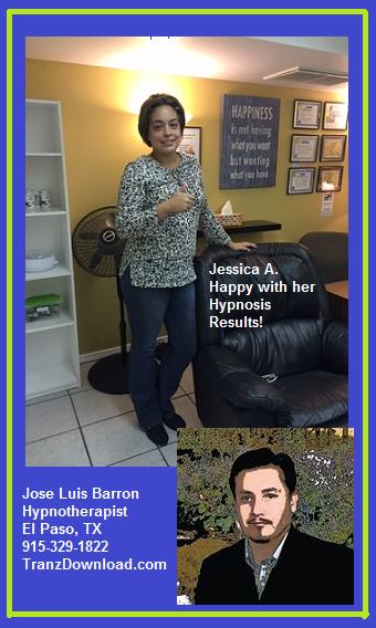 Jessica A -  Hypnosis Success Story #21